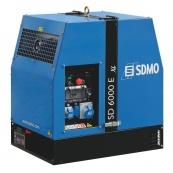 Дизельный генератор DIESEL SD 6000E XL