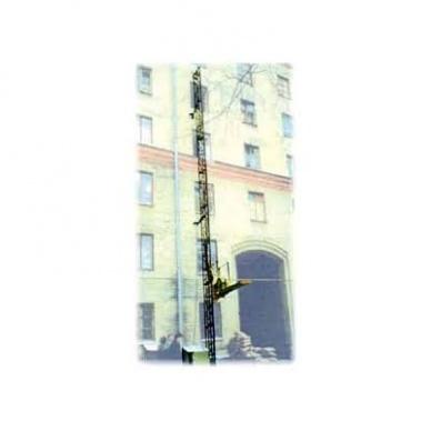 Подъемник мачтовый секционный с выкатной платформой ПМГ г/п 630 кг